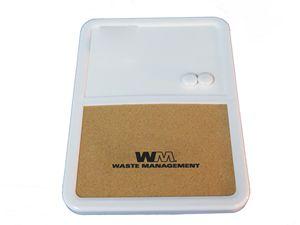 Magnetic White Board/ Corkboard