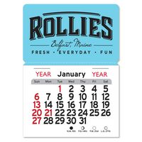 Rectangle Magnet Peel-N-Stick® Calendar