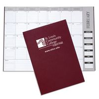 Leatherette Academic Desk Planner