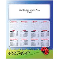 "XXL Magnetic Calendar ""Ladybug"" (8-1/2""x10-1/2"")"