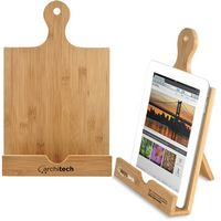 Bamboo Cookbook & Tablet Stand