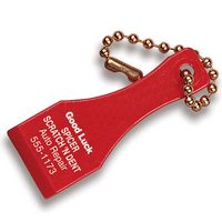 Lottery Scraper w/Chain