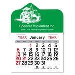 Custom Tractor Peel-N-Stick Multi-Use Calendar