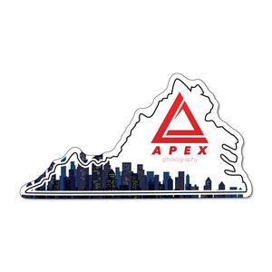 Virginia State Shaped Promotional Items -