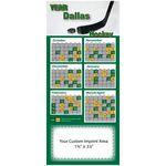 Pro Team Hockey Schedule Magnet (3 1/2