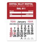 Custom Emergency Peel-N-Stick Multi-Use Calendar