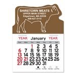 Custom Steer Peel-N-Stick Multi-Use Calendar