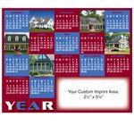 Custom XXL Magnetic Calendar (8-1/2