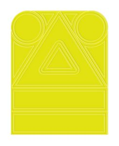 Fluorescent Yellow Blank