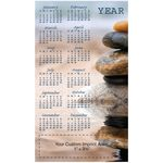 Custom Serenity Process Color Magnetic Calendar/ 20 Mil (4