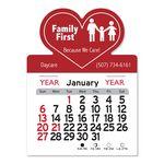 Custom Heart Peel-N-Stick Multi-Use Calendar