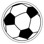 Soccer Ball NoteKeeper™ Magnet - 20 Mil (3