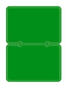 Fluorescent Green Blank
