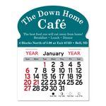 Custom Oval Magnet Peel-N-Stick Calendar