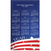 "USA Process Color Magnetic Calendar/ 30 Mil (4""x7"")"