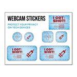 Custom Web Cam Stickers