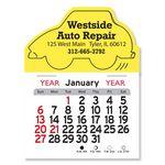 Custom Car Peel-N-Stick Multi-Use Calendar