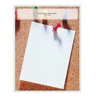 "Pushpin Note Memo Board (8-1/2""x11"")"