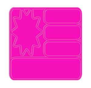 Fluorescent Pink Blank
