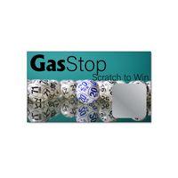 "Scratch Off Card (2"" x 3-1/2"") 22281S=Sq. w/Round Corner Sticker/22281C=Circle Sticker"