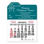 Custom Church Peel-N-Stick Multi-Use Calendar