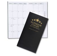 Leatherette Monthly Pocket Planner