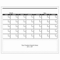 "XXL Magnetic Calendar - Monthly Calendar (8-1/2""x10-1/2"")"