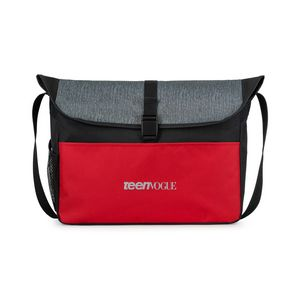 7ebe909939 Rockland Messenger Bag Red - 100050-610 - IdeaStage Promotional Products