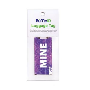 RuMeID Luggage Tag with Retail Packaging