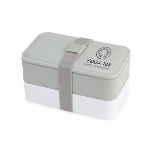 Kyoto Bento Lunch Box Grey