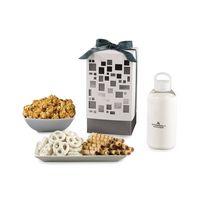 Pure Mondrian Gourmet Gift Box White-Silver