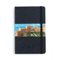 Moleskine Hard Cover Ruled Medium Notebook Black