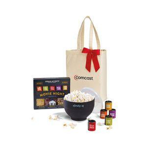 Movie Night Gourmet Popcorn Gift Set - Natural