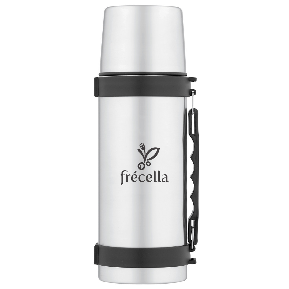 ThermoCafe™ by Thermos® Beverage Bottle - 1.1 Qt. Silver