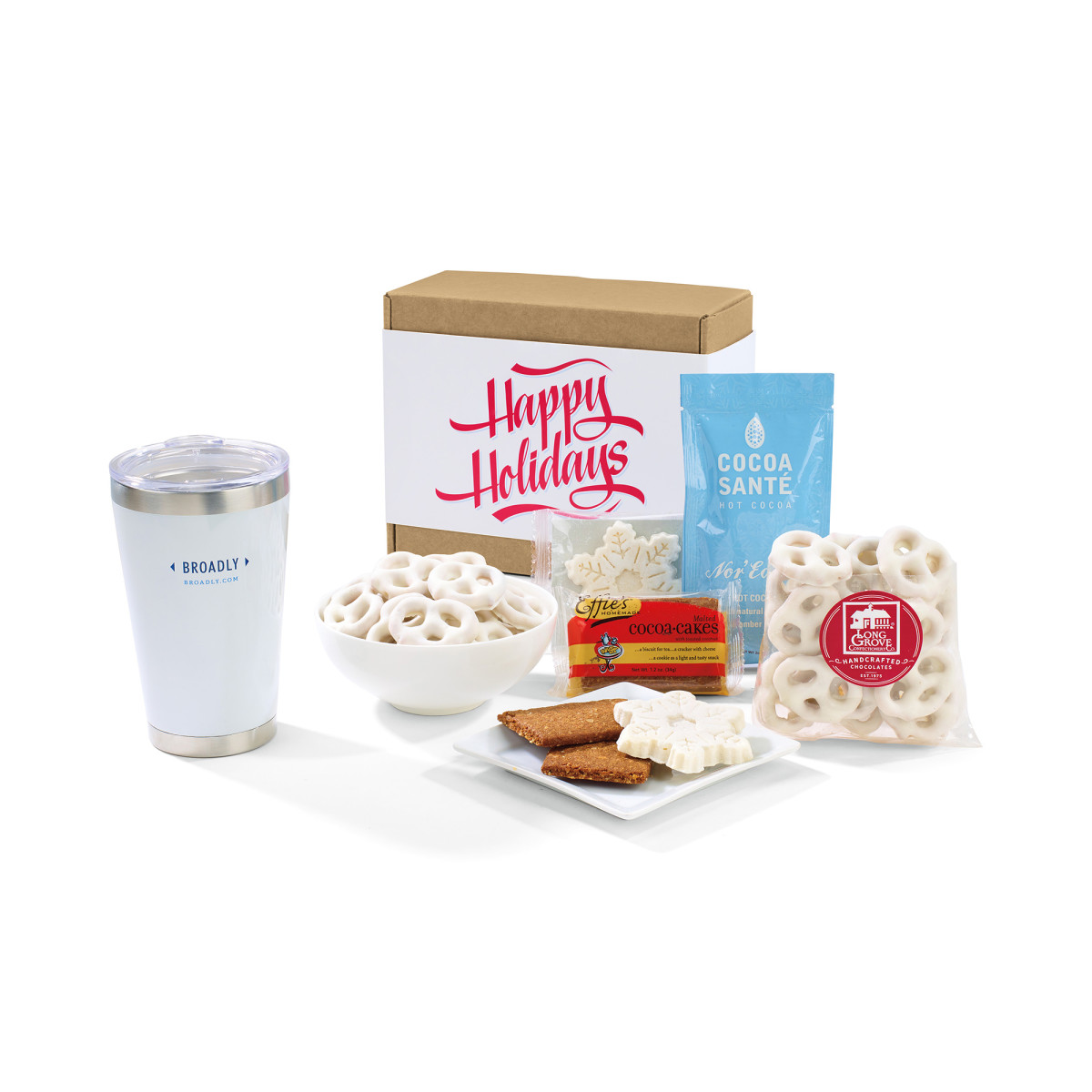 The Nor'easter Aviana™ Holiday Gift Set White