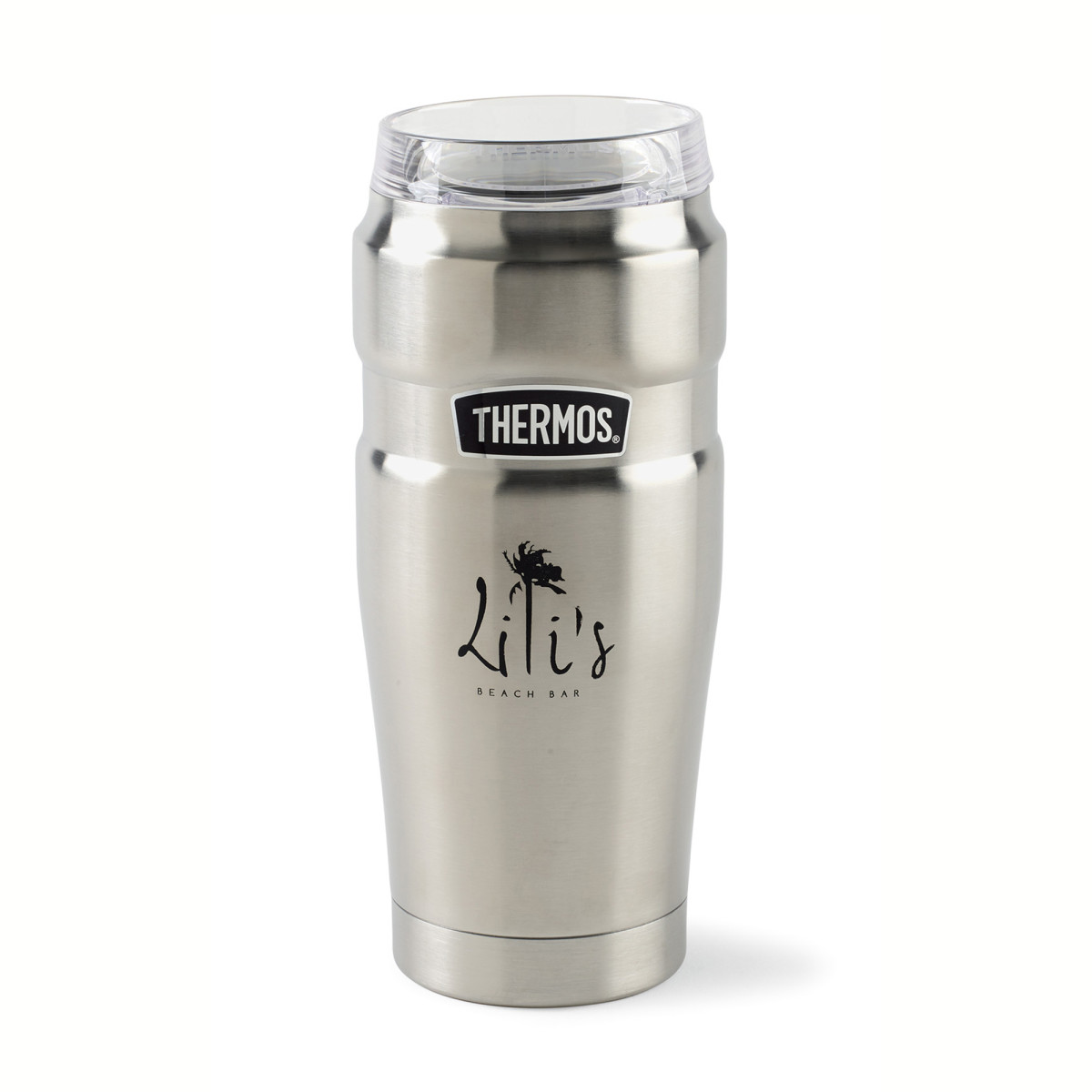 Thermos® Stainless King™ Tumbler with 360° Drink Lid - 20 Oz. Silver
