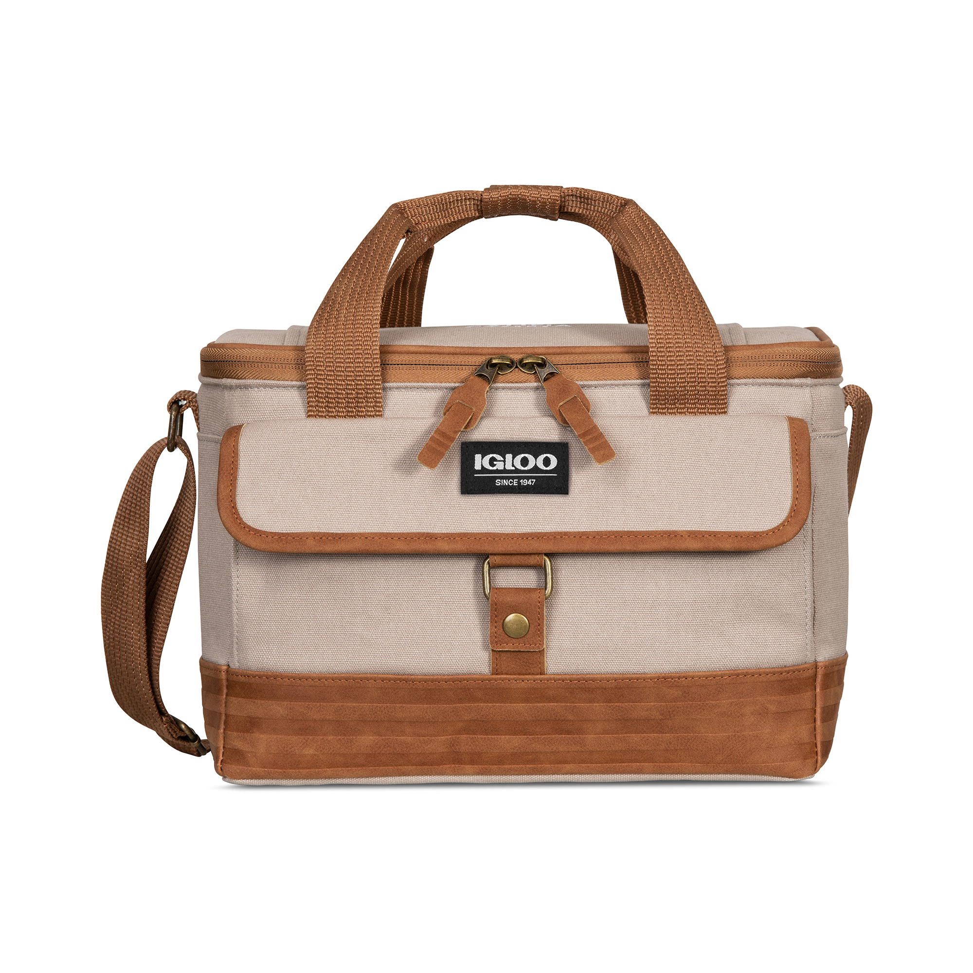 Igloo® Legacy Lunch Companion Cooler Natural-Brown