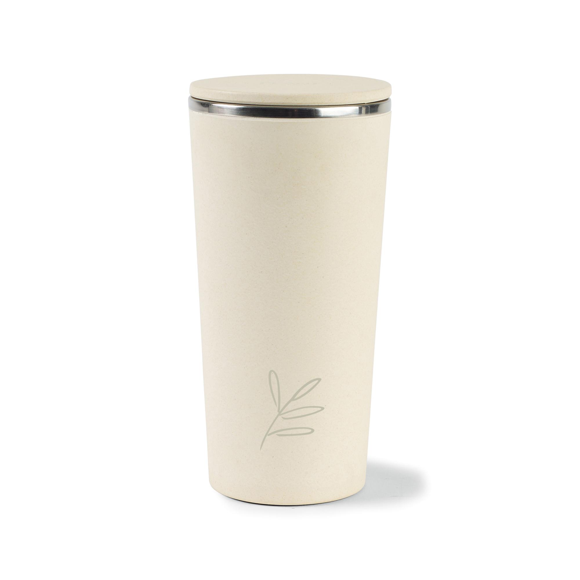 Gaia Bamboo Fiber Tumbler - 13.5 Oz. Natural