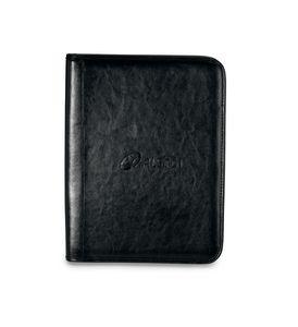 Tuscan Leather Padfolio Black