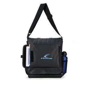 Impact Vertical Computer Messenger Bag - Dark Grey