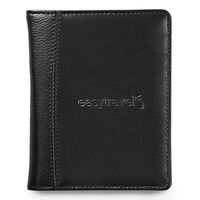 Samsonite Leather Passport Wallet - Black
