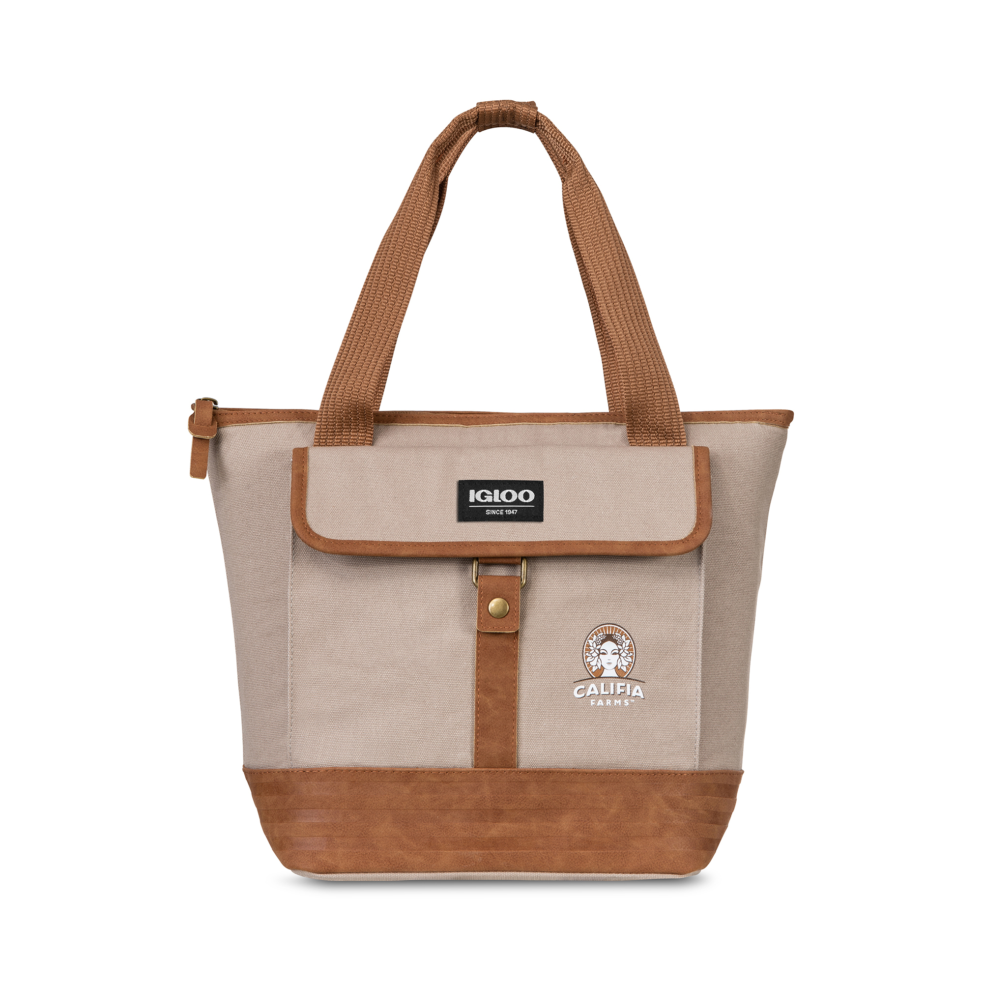 Igloo® Legacy Lunch Tote Cooler Natural-Brown