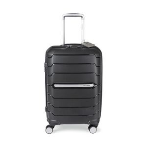 Samsonite Freeform 21 Spinner with Luggage Tag Black