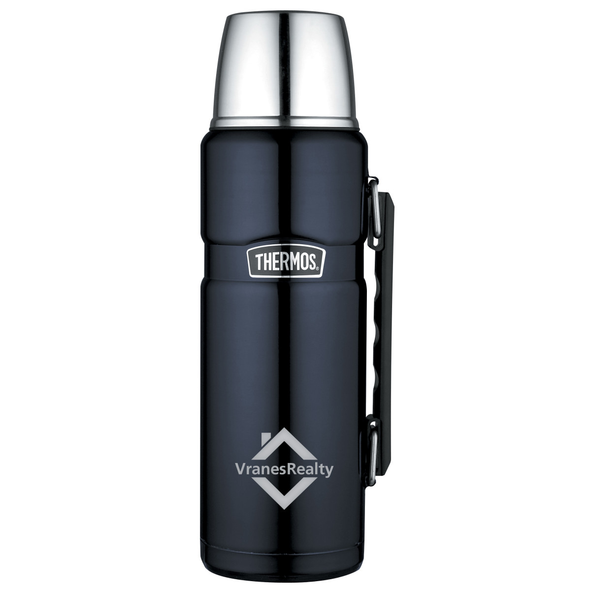 Thermos® Stainless King™ Beverage Bottle - 40 Oz. Blue