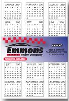 "13""x19"" Wall Calendar Card with Bleed"