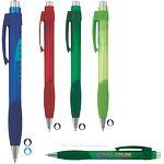 Custom Equinox Super Glide Pen w/ Translucent Barrel