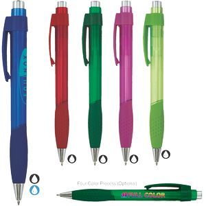 Equinox Super Glide Pen w/ Translucent Barrel
