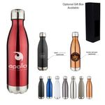 Custom 17 Oz. Apollo Double Wall Stainless Vacuum Bottle