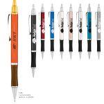 Custom Hedgehog Metallic Pen w/ Black Gripper