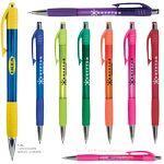 Custom Krypton Translucent Pen w/ Matching Gripper